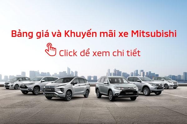 Bảng giá xe Mitsubishi tháng 05/2020