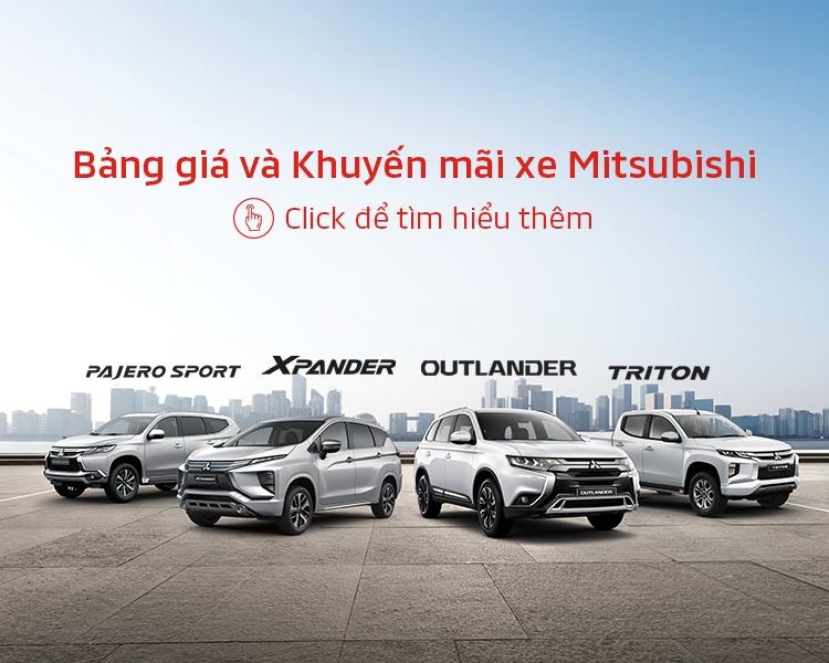 Bảng giá xe Mitsubishi tháng 08/2020