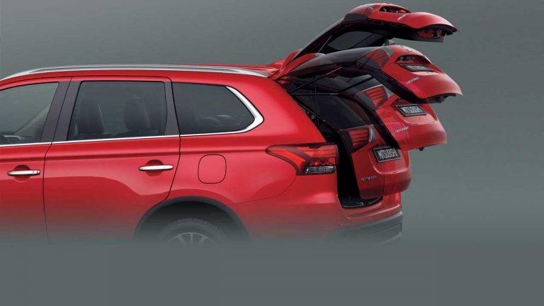 Các cách mở cốp trên Mitsubishi Outlander 2.4 Prenium