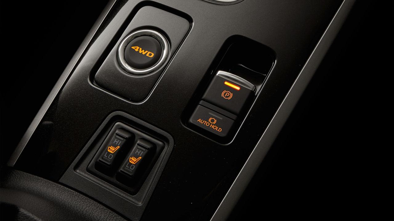 Làm thế nào để sử dụng Phanh tay điện tử và Auto Hold Trên Mitsubishi Outlander