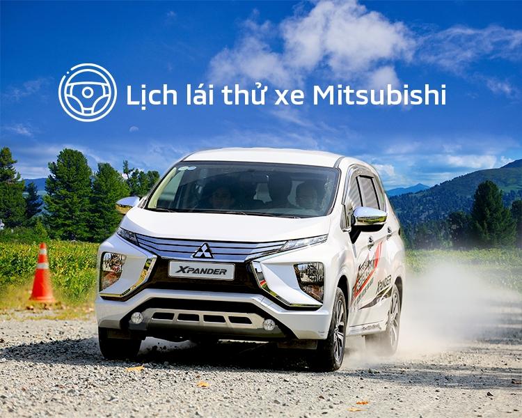 Lịch trưng bày và lái thử xe Mitsubishi tháng 06/2020