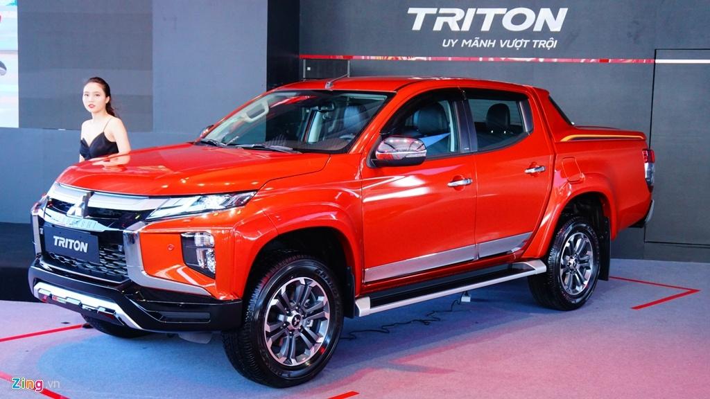 Mitsubishi Triton 2020 ra mắt tại Việt Nam, giá từ 600 đến 865 triệu