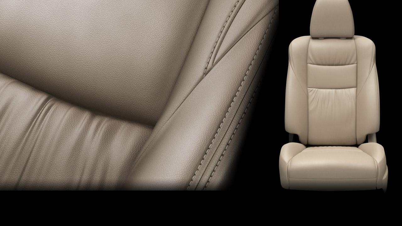 Ghế da, ghế lái chỉnh điện 8 hướng